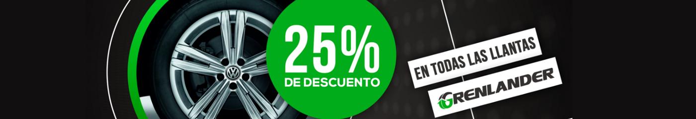 Grenalnder 25 % De Descuento
