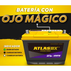 BATERIA ATLAS 36-750 +DERECHA Spark GT-Fiesta-Clio I-Twingo